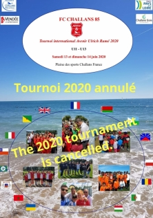 Annulation Tournoi International Ulrich Ram