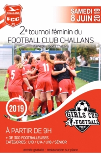 Girls cup football