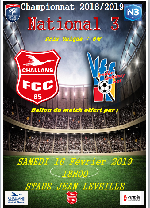 FC Challans 85 - Fontenay Vendée Foot